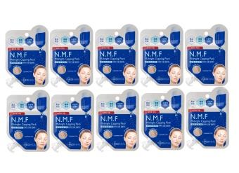 Bộ 10 gói Mặt nạ ngủ dưỡng trắng da Mediheal N.M.F Midnight Capping Pack 15ml x10