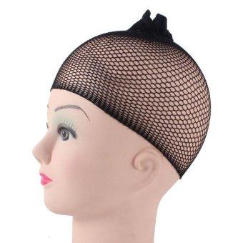 Bộ 2 lưới trùm tóc giả (Đen)