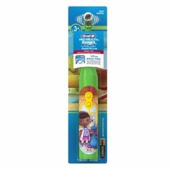 Bàn chải đánh răng dùng pin trẻ em Oral-B Pro-Health Battery Toothbrush (Xanh lá nhạt)