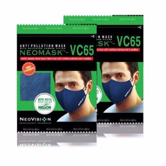 Bộ 2 Khẩu Trang Neovision Neomask Vc - 65 (Xanh)