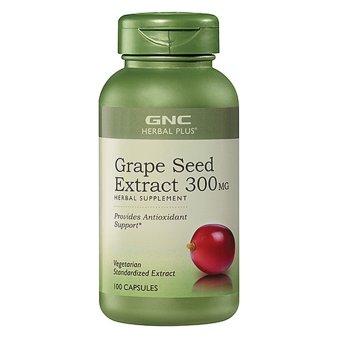 Viên uống chiết xuất hạt nho GNC Grape Seed Extract 300 MG 100 viên