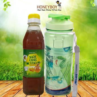 Mật ong Thô Honeyboy 400ml Tặng kèm bình nước Matsu 500ml