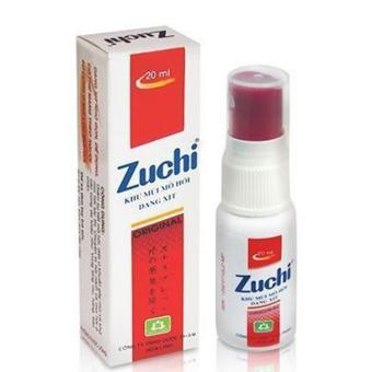 Xịt Nách Zuchi Thảo Dược 20ml ( Đỏ )