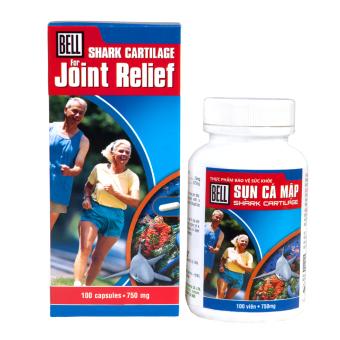Combo 2 hộp Sụn cá mập Bell shark cartilage (1 hộp 100 viên+ 1 hộp 30 viên) - Bổ sung dưỡng chất cho khớp