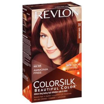 Thuốc nhuộm tóc REVLON COLORSILK - 31 DARK AUBURN