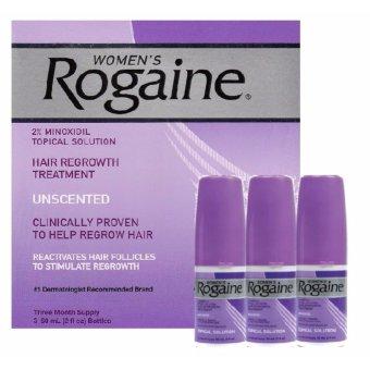 Bộ 3 Chai Thuốc Mọc Tóc Dành Cho Nữ Rogaine Hair Regrowth Treatment 60Ml