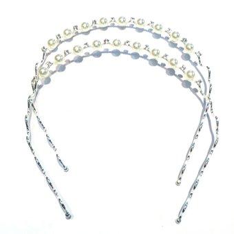 Cài tóc đính Ngọc trai MN458 Trang sức Minh Ngọc (trắng)