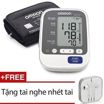 Máy đo huyết áp Omron Hem 7130 + Tặng 1 tai nghe nhét tai