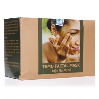 Mặt nạ nghệ Tanamera Temu Facial Mask 1 hộp x 10 gói 100g