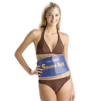 Đai xông hơi giảm béo thế hệ mới Sauna Belt (vàng) + Tặng Máy massage mặt Y1200 HÀNG NHẬP