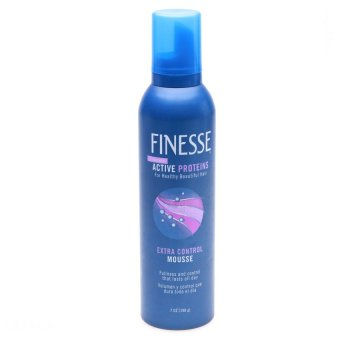 Mousse vuốt tóc Finesse giữ nếp vừa Finesse Extra Control Mousse 198g