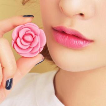 Son Dưỡng Hoa Hồng 3CE Pot Lip Tinted Pink - Hồng Phớt
