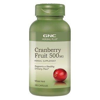 Thực phẩm chức năng GNC Cranberry Fruit 500MG chai 100 viên