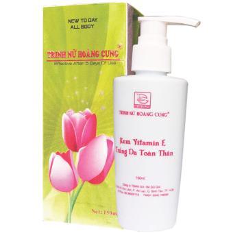 Kem Vitamin E - Trắng Da Toàn Thân Trinh Nữ Hoàng Cung - 150ml - TNHC006T89