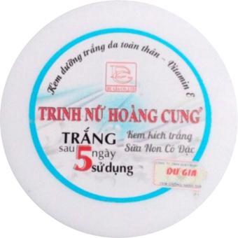 Kem Dưỡng Trắng Da Toàn Thân - Vitamin E Trinh Nữ Hoàng Cung (Kem Kích Trắng - Sữa Non Cô Đặc) - 120g - Tnhc041t95