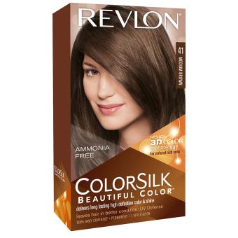 Thuốc nhuộm tóc REVLON COLORSILK - 41 MEDIUM BROWN