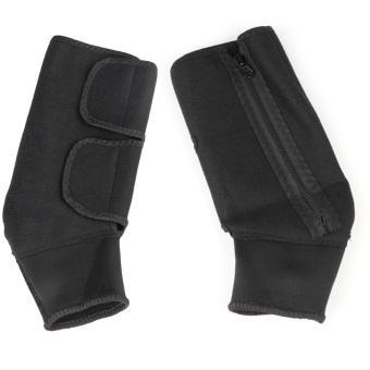 Băng bảo vệ cổ chân thông minh dễ dàng điều chỉnh kích thước thuận tiện (Đen)