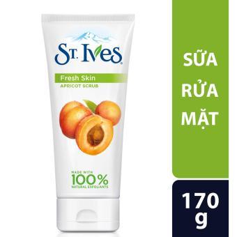 Sữa rửa mặt Tươi Mát St.Ives Hương Mơ 170G