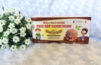 Fine Bột Canxi Ngon hương vị Socola 10 gói x 10g