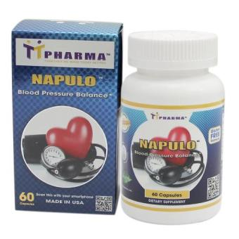 Thực phẩm chức năng hỗ trợ duy trì ổn định huyết áp Napulo