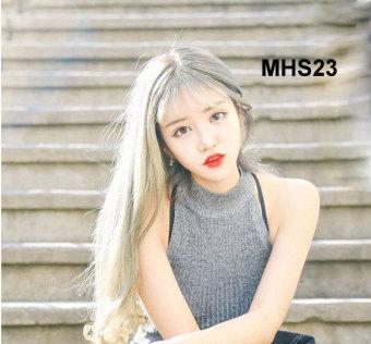 Bộ Tóc Dài Mái Thưa Bạch Kim MHS23