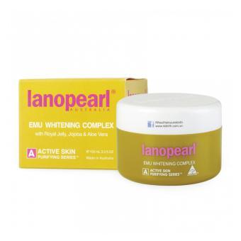 Kem dưỡng trắng da ban đêm với tinh dầu đà điểu LANOPEARL Emu Whitening Complex 100g
