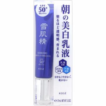KEM CHỐNG NẮNG DƯỠNG VÀ LÀM TRẮNG DA SEKKISEI WHITE UV EMULSION SPF50+/PA++++(35g)
