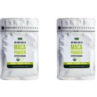 Bộ 2 túi bột Gelatinized Maca hữu cơ Hola Andina 200g