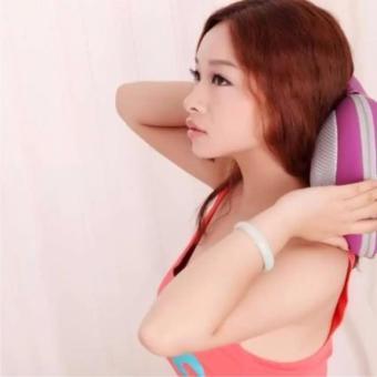 Gối mát-xa hồng ngoại Massage Pillow (Tím)