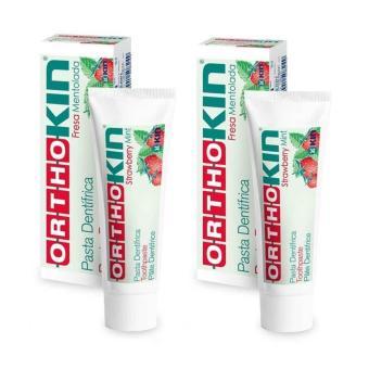 Combo 2 hộp kem đánh răng cho răng niềng Ortho Kin