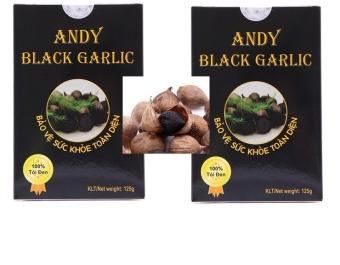 Bộ 8 hộp Tỏi đen cô đơn Andy 125gx8