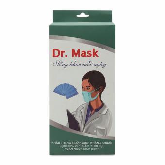 Khẩu trang y tế 4 lớp kháng khuẩn Dr. Mask KT 02
