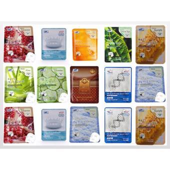 Bộ 10 gói mặt nạ chiết xuất nhau thai cừu 3W Clinic Fresh Placenta Mask Sheet 23ml X 10