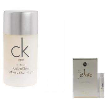 Lăn Khử Mùi Nữ Calvin Klein Ck One 75 Ml + Tặng 01 Vỉ Nước Hoa Nữ Dior Jadore Eau De Parfum 1 Ml