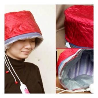 Mũ hấp tóc ủ tóc cá nhân tại nhà (đỏ)