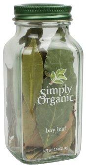 Lá nguyệt quế Hy Lạp Simply Organic Bay Leaf 4g