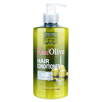 Dầu xả siêu mượt tinh chất olive GREEN GRAPHY Real Olive Velvet Dress Hair Conditioner 500g