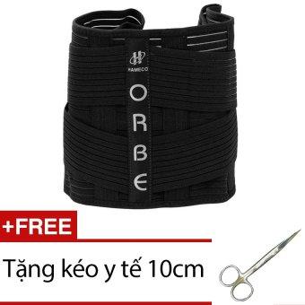 Đai thắt lưng Olumba + Tặng kéo y tế 10cm