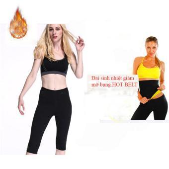 Đai sinh nhiệt giảm mỡ bụng Hot Belt ( Size L)