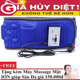 Đai Mát Xa Giảm Béo Bụng X5 new 2017 + Tặng Máy Massage Mặt Y1200