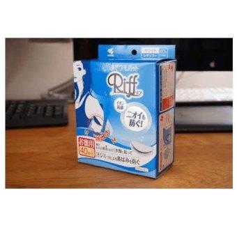 Bộ 2 hộp miếng dán thấm hút mồ hôi nách, khử mùi - Riff Nhật Bản