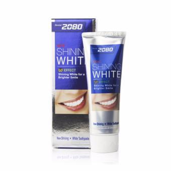 Mua Kem đánh răng tẩy sạch vết ố trên răng 2080 Shining White 3D Effect Hàn Quốc 100g - Hàng Chính Hãng giá tốt nhất