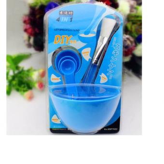Bộ dụng cụ trộn mặt nạ đắp mặt Beauty Mask 4 in 1 (xanh ngọc)