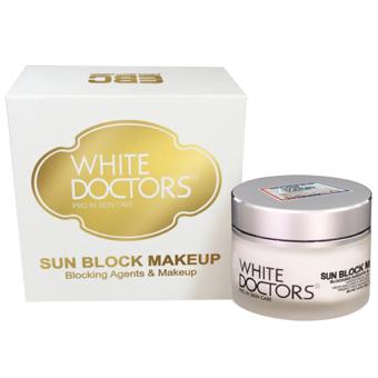 Kem Trang Điểm Trắng Da Chống Nắng White Doctors Sun Block Makeup 40ml