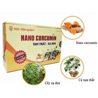 Nghệ Nanocurcumin Tam thất xạ đen Học viện quân y chống viêm loét dạ dày
