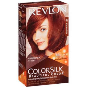 Thuốc nhuộm tóc REVLON COLORSILK - 42 MEDIUM AUBURN