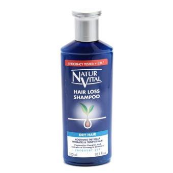Dầu gội trị rụng tóc dành cho tóc và da đầu khô naturvital hairloss shampoo dry hair 300ml