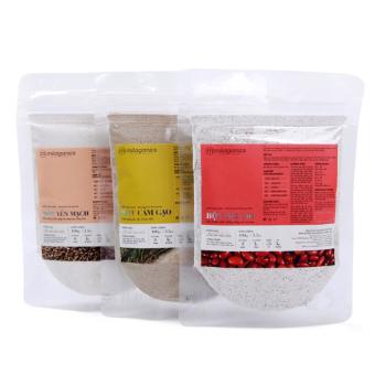 Bộ 1 bột cám gạo 100g + 1 bột yến mạch 100g + 1 bột đậu đỏ 100g