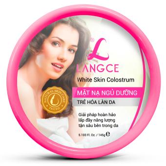 Sữa non mặt nạ ngủ dưỡng LANGCE 145g