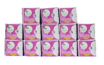 Bộ băng vệ sinh hàng ngày cotton BELLE FLORA
